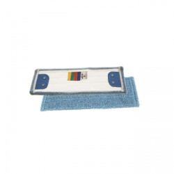 Mop krpa 40 cm duo mikro modra