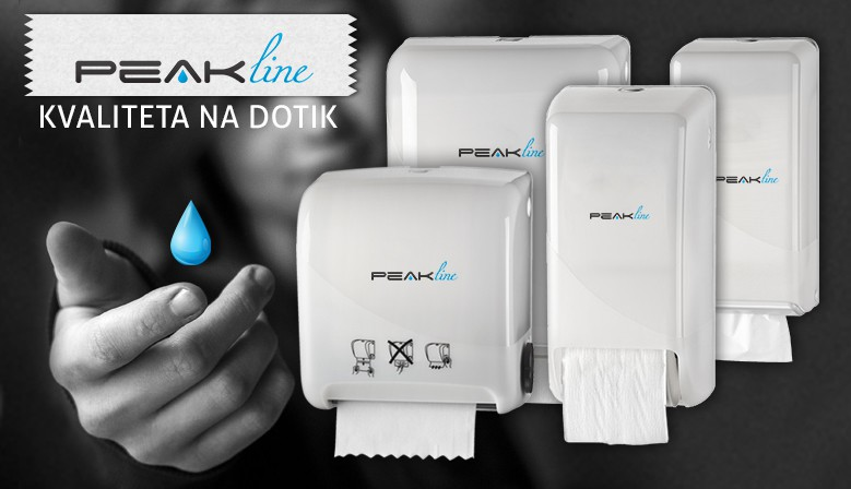 PeakLine - kvaliteta na dotik